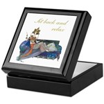 Sit Back And Relax Keepsake Box