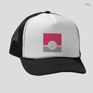 a560166f7766f Initial D Kids Trucker Hats - CafePress