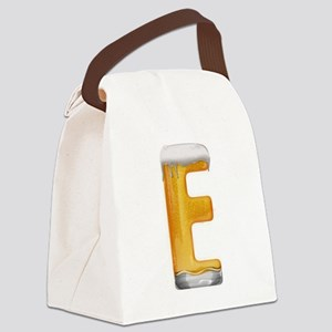 E Beer Canvas Lunch Bag