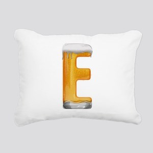 E Beer Rectangular Canvas Pillow