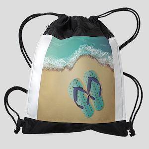 Flip Flops Drawstring Bag
