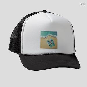 Flip Flops Kids Trucker hat