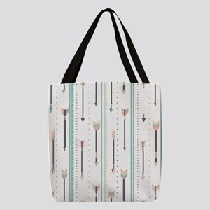 Arrows Polyester Tote Bag
