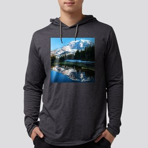 Mt. Rainier Mens Hooded Shirt