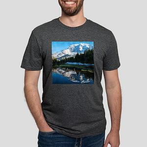 Mt. Rainier Mens Tri-blend T-Shirt