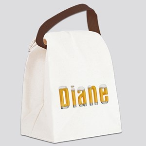Diane Beer Canvas Lunch Bag