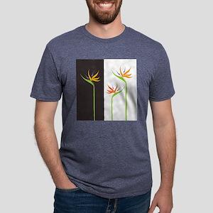 Bird of Paradise Flowers Mens Tri-blend T-Shirt