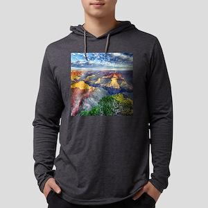 Grand Canyon Mens Hooded Shirt