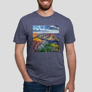 Grand Canyon Mens Tri-blend T-Shirt
