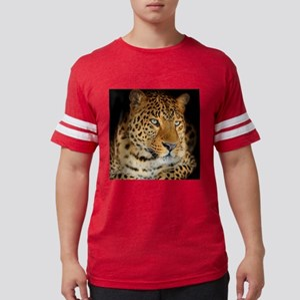 Leopard Portrait Mens Football Shirt