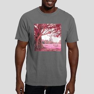 Pink Tree Swing Mens Comfort Colors Shirt