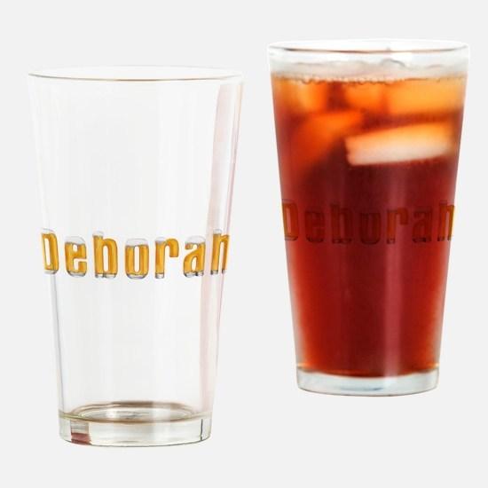 Deborah Beer Drinking Glass