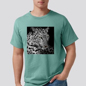 White Leopard Mens Comfort Colors Shirt