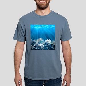 Tropical Reef Mens Comfort Colors Shirt