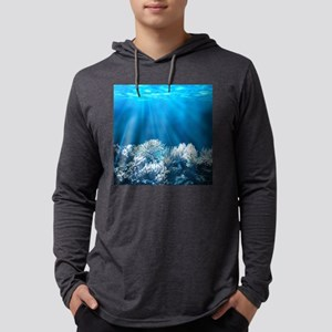 Tropical Reef Mens Hooded Shirt