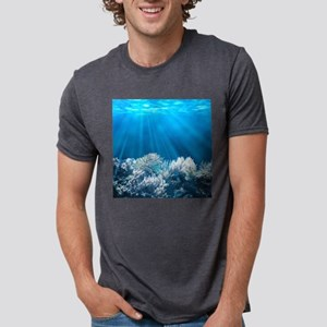 Tropical Reef Mens Tri-blend T-Shirt