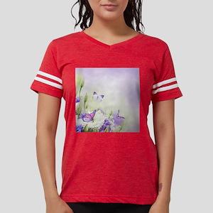 Flowers and Butterflies Womens Football Shirt
