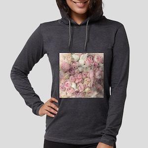 Roses Womens Hooded Shirt