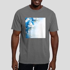 Beautiful Floral Mens Comfort Colors Shirt