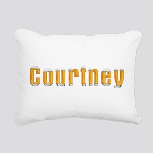 Courtney Beer Rectangular Canvas Pillow