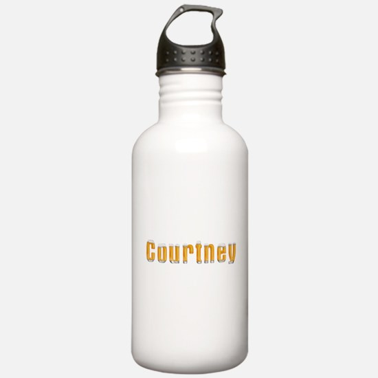 Courtney Beer Water Bottle