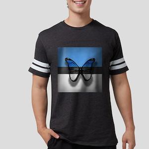 Abstract Butterfly Mens Football Shirt