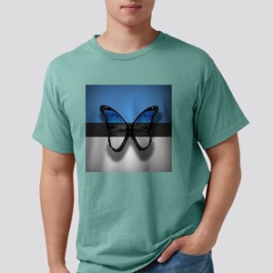 Abstract Butterfly Mens Comfort Colors Shirt