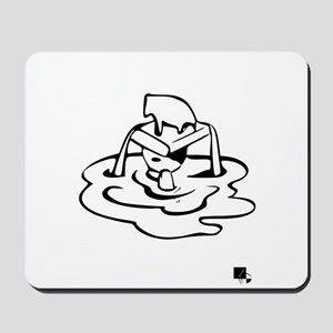 Getting back up Mousepad