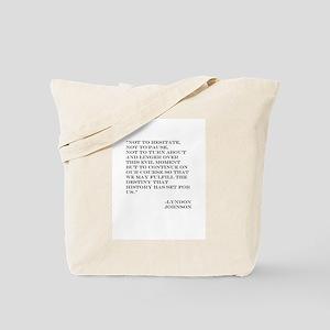 No Terror Tote Bag