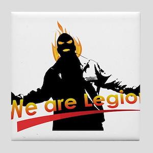 We are Legion Tile Coaster