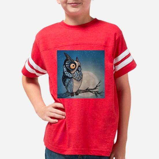 Night Owl Youth Football Shirt