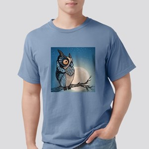 Night Owl Mens Comfort Colors Shirt