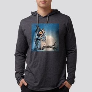 Night Owl Mens Hooded Shirt
