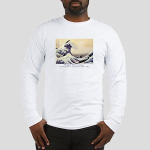 Penguin Wave Long Sleeve T-Shirt