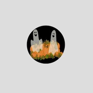 Ghosts in the Pumpkin Patch Mini Button