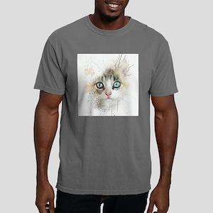 Kitten Painting Mens Comfort Colors Shirt
