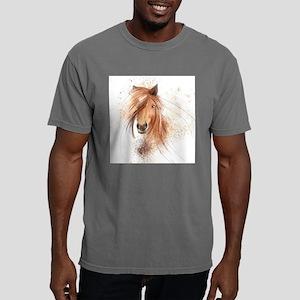 Horse Painting Mens Comfort Colors Shirt