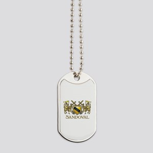 Sandoval Coat of Arms Dog Tags
