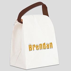 Brendan Beer Canvas Lunch Bag