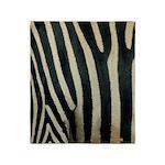 Zebra Safari Decor Throw Blanket