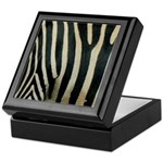 Zebra Safari Decor Keepsake Box