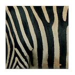 Zebra Safari Decor Tile Coaster