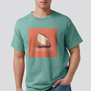 Ancient Ship Mens Comfort Colors Shirt