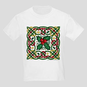 Celtic Garland & Holly Kids T-Shirt