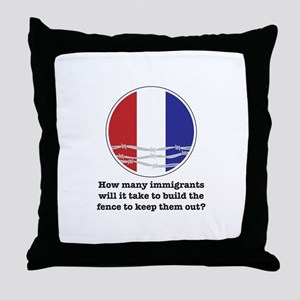 How Many Immigrants... Throw Pillow