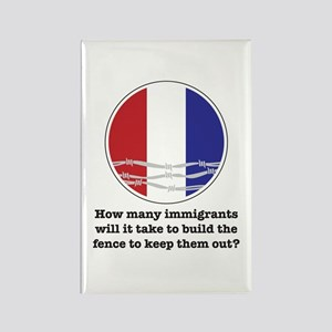 How Many Immigrants... Rectangle Magnet