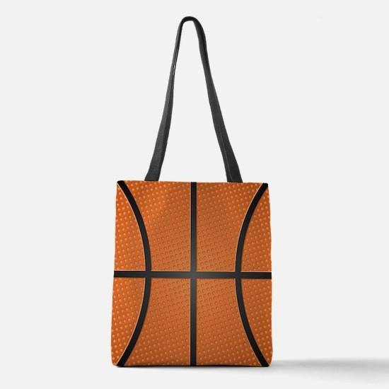 Basketball Polyester Tote Bag