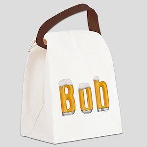 Bob Beer Canvas Lunch Bag