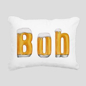 Bob Beer Rectangular Canvas Pillow