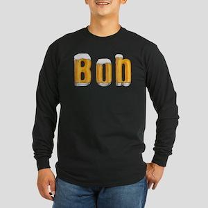 Bob Beer Long Sleeve Dark T-Shirt